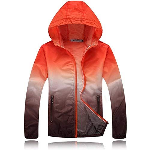 Al Impermeable Cazadora Ligero Aire Chaqueta Libre Lluvia Con Naranja Capucha Secado Coat Uv Rápido Laisla You Clásico Fashion De Transpirable Mujeres nOqYzI