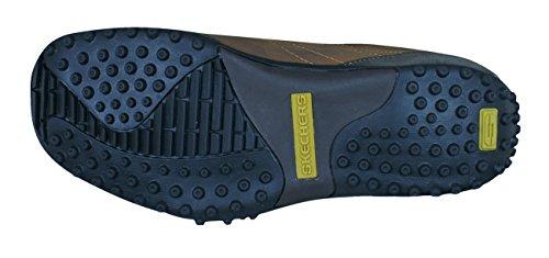 Skechers Herren Urbantrack Imperial Schuhe auszeichnend Kontrastband Platten Laufen Unten Seiten und Genähtes Detail Das Macht Them Ideal für Freizeit und S