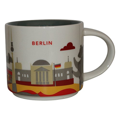 Starbucks City Mug You Are Here Collection Berlin Coffee Cup