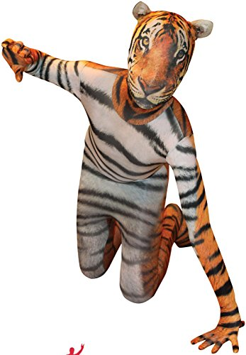 "Tiger Kids Animal Planet Morphsuit Fancy Dress Costume - size Small 3""1-3""6 (94cm-107 cm) (Animal Morph Suits)"