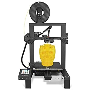 "LONGER LK4 3D Printer 90% Pre-Assembled with 2.8"" Full Color Touch Screen, Resume Printing, Filament Detector, Built-in Safety Power Supply 220x220x250mm 3D Printers"