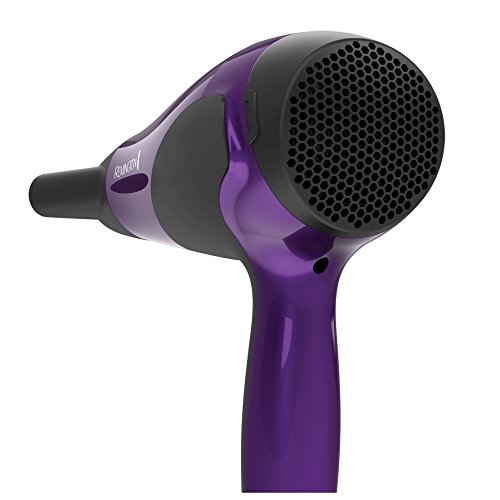 Remington D3190A Damage Control Ceramic Hair Dryer, Ionic Dryer, Hair Dryer, Purple