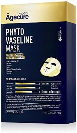 NEOGEN AGECURE PHYTO VASELINE MASK- 1 BOX OF 10 SHEETS 14.10 oz / 400g