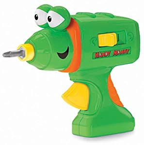 Fisher Price Handy Manny Spinner Power Screwdriver Toys Games