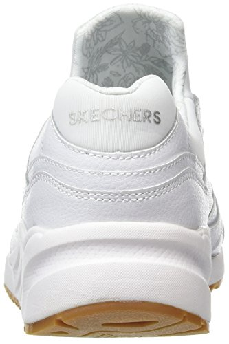 Formateurs Weiß White Out 95 Hug It OG Skechers Femme 0q6XFP