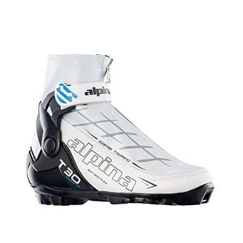 Alpina T 30 Eve Womens NNN Cross Country Ski Boots - 37/White