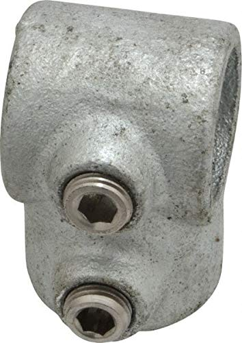 18 Pack 3//4 Inch Pipe Malleable Iron Pipe Rail Fitting PRO-SAFE Single Socket Tee