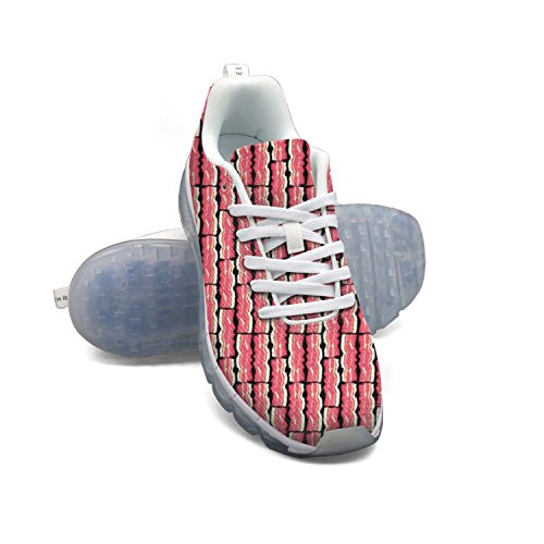 100% authentic cheap price outlet shopping online FAAERD Bacon Strips Breakfast Pork Bacon Meat Food Men's Fashion Lightweight Mesh Air Cushion Sneakers Tennis Shoes cheap sale sneakernews clearance sale online 9P4EoJK4
