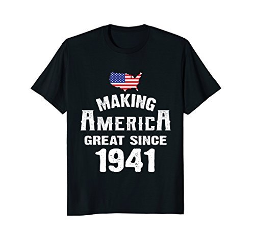 Make America Great Since 1941 77th Year Old 77 Birthday Gift