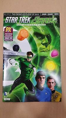 Star Trek Green Lantern: The Spectrum War #1 San Diego Comic Con Variant