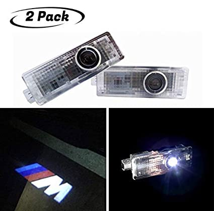 2 Pcs Wireless Car Door Led Welcome Laser Projector for ES 2006-2017 GX 2010-2017 LS 2003-2012 LX 2009-2017 RX 2007-2017 GS 2005-2017 IS 2006-2017/ Led Car Door Lights with Car Logo Projector Lights