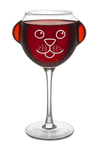 BigMouth Inc Ruff Day Wine - For Face Glasses