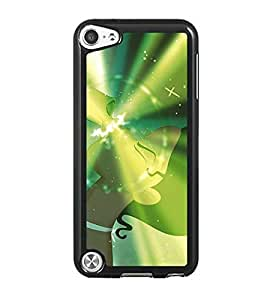 Disney The Princess And The Frog IPod Touch 5th Funda Case - Extra Kawaii Cartoon Anti Dust Plastic Rugged Cover Fit for IPod Touch 5th