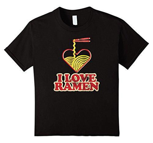 Kids I love Ramen: Ramen Life Otaku Anime Vintage Retro Shirt 10 (Ramen Noodle Costume)