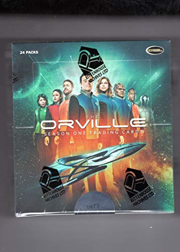 The Orville Season Trading Card Box - Factory Sealed with 24 Sealed Packs