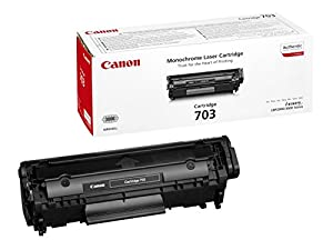 canon 703 lbp2900 lbp3000 lbp 2900 lbp 3000 laser toner cartridge 1 x black 2000 pages. Black Bedroom Furniture Sets. Home Design Ideas