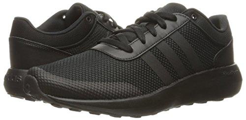 Adidas Neo Men S Cloudfoam Race Running Shoe Black Black