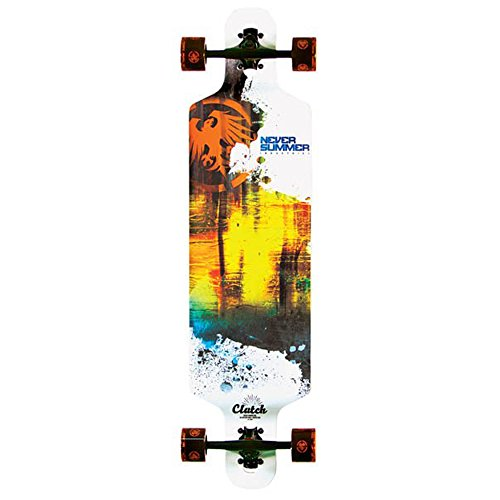 "Never Summer - Clutch Longboard Complete 2015, 39""x10"""