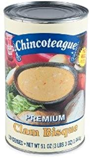 product image for Chincoteague Seafood Clam Bisque Condensed 6-51oz Cans