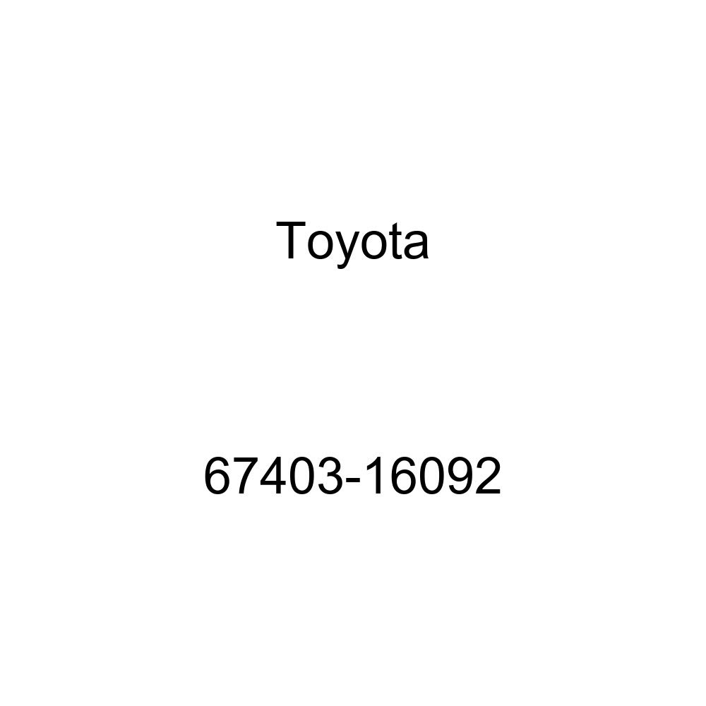 Toyota 67403-16092 Door Frame Sub Assembly