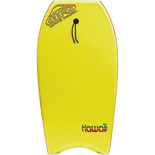 Wave Rebel Hawaii Body Board, Red, 36'