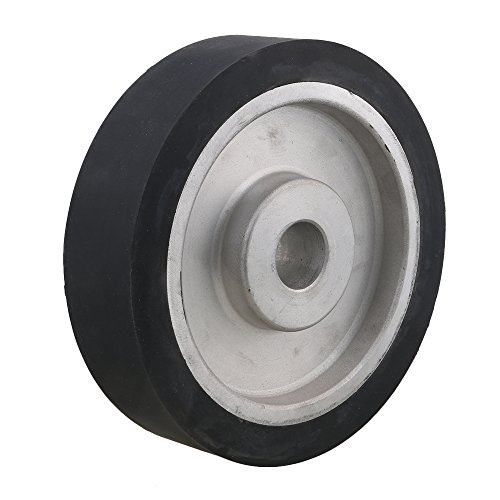Mxfans 200x50mm Flat Surface Abrasive Belts Grinder Rubber Contact Wheel by Mxfans