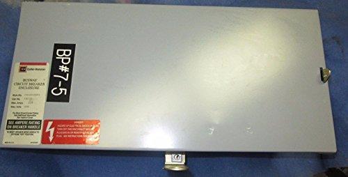 cutler-hammer Westinghouse ibpjd autobús enchufe interruptor de circuito caja 250 Amp: Amazon.es: Amazon.es