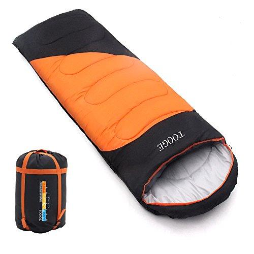 Tooge 침낭 봉투형 동용쾌적 온도-10℃~10℃ 통째로 세탁 수납 봉투 첨부 2 개연결 사용