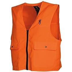 Browning Safety Blaze Overlay Vest Blaze, Large