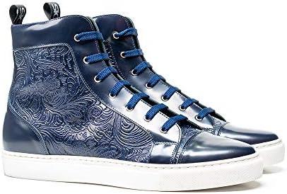 DIS Gianmarco wit, groen - handgemaakt door Design Italian Shoes