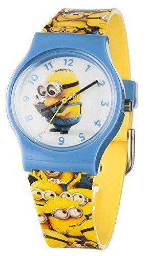 Gru-Mi-Villano-Favorito-MNS18-Reloj-de-pulsera-agujas-para-nio-color-blanco