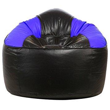 Pleasing Amazon Com Ink Craft Blue Mudda Chair Bean Bag Cover Only Machost Co Dining Chair Design Ideas Machostcouk