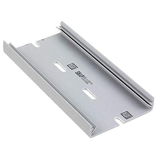 DIN RAIL SLOTTED PVC 6'' (Pack of 10) (2TK2-6)