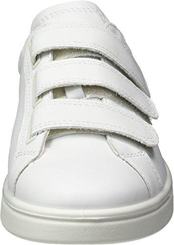 Donna Scarpe Ecco Basse black white 50524white Bianco Ginnastica 4 Soft Da qRxxnYPB