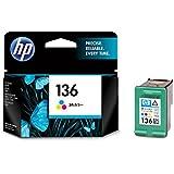 ヒューレット・パッカード HP 136プリントカートリッジ カラー