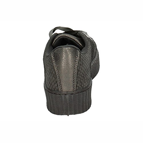 Deportiva Mujer Gris Plataforma Deportivos Qq005 Zapatop Oqw5YT6