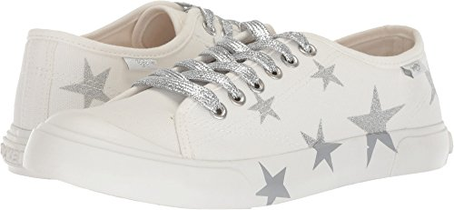 - Rocket Dog Women's Jivy White 8a Canvas/Stars 10 M US