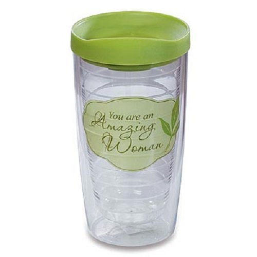 """Abbey Press """"Amazing Woman"""" Tumbler – Clearly Blessed Beverage Inspirational 55207T-ABBEY by Abbey Press"""