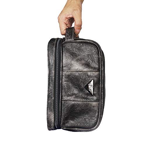 455cd6963936 LVLY Dopp Kit Leather Toiletry Bag for Men - Travel Bags for - Import It All