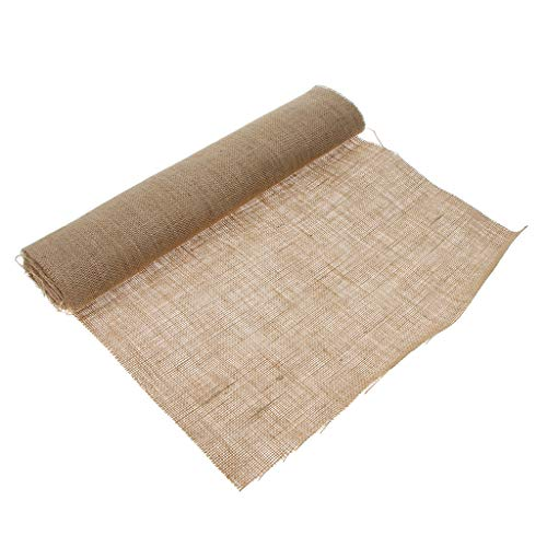 SM SunniMix 4M Packaging Flower Wrapping Paper Roll Bouquet Wrap Burlap Material Thanksgiving for Christmas&Party