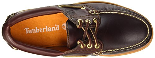 Timberland Stanwood 3-Eye, Chaussures Bateau Homme Marron (Brown Northeast)
