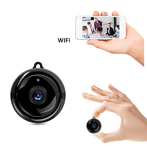 - HD 1080P Home Smart Mini WiFi Camera, Oneup Remote Control Security Monitoring Wireless Indoor Camera, Night Vision Baby/Nanny/Elder Monitor, Support iOS/Android