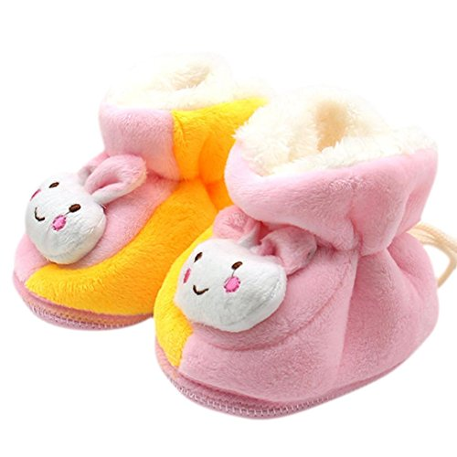 Franterd Baby Girls Cartoon Snow Boots Prewalker Winter Warm (Make Your Own Costume Superhero)