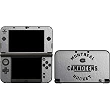 Montreal Canadiens 3DS XL 2015 Skin - Montreal Canadiens Black Text | NHL X Skinit Skin