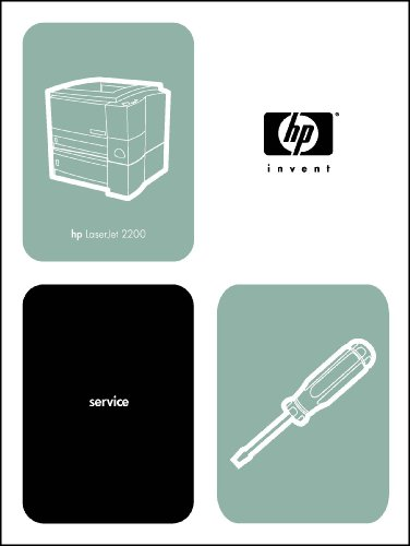 - HP LaserJet Laser Printer 2200 324 page Service Manual