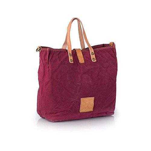 Campomaggi C1389 TEVL - Handtasche, Campomaggi_Farbe:vinaccia st. oro+nat