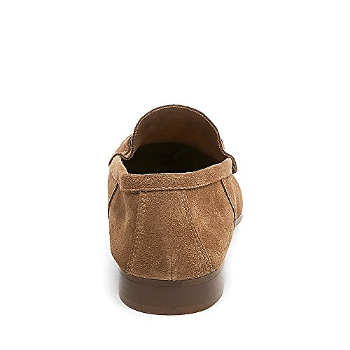 Steve Madden Mens Lugo Suede Slip on Loafers Tan Suede Rp41xv