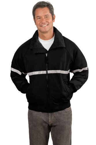 Port Authority Men's Challenger Jacket with Reflective 4XL T Bk/T ()