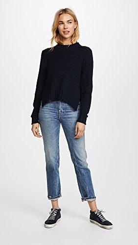360 SWEATER Women's Kendra Sweater, Midnight, X-Small by 360SWEATER (Image #5)