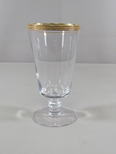Tiffin Crystal APOLLO-GOLD Iced Tea Glass(es) Franciscan Glassware